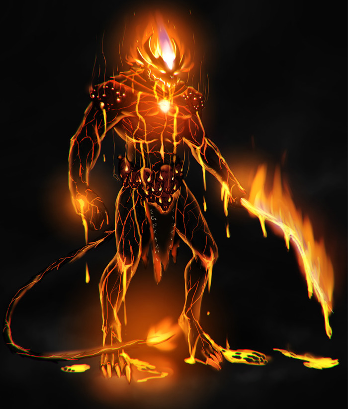 Pit Demon - they are normally found in Hellzones, as they prefer really blazing hot environments