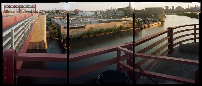 """Newtown Creek Looking Towards Brooklyn, published by Abrams 2011, """"New York In Color"""" by Bob Shamis"""