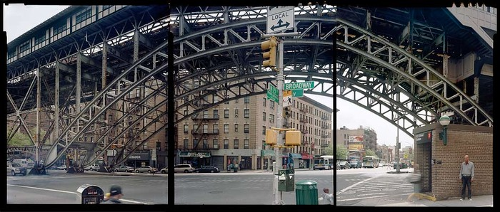 """125th Street and Broadway, commissioned by the Studio Museum in Harlem, published in """"Studio"""" Magazine and by Rizzoli 2010, """"Harlem: A Century In Images"""""""