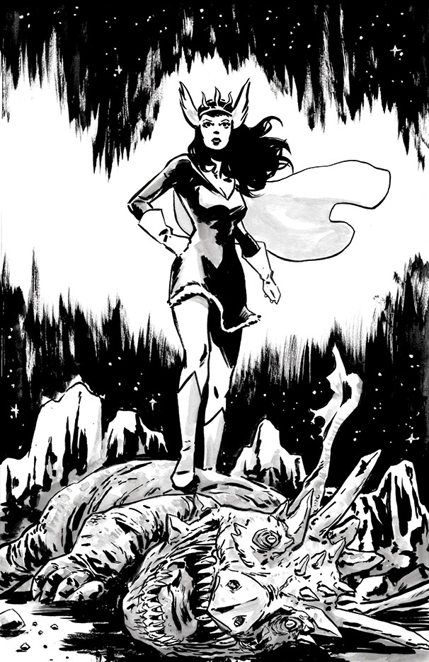 Read Nelvana of the Northern Lights for free on Comixology