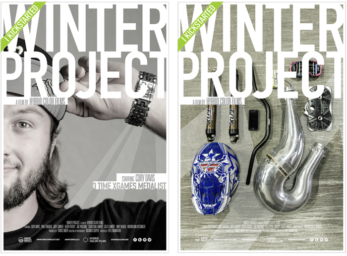 Winter Project Poster Series Version 2 & 3