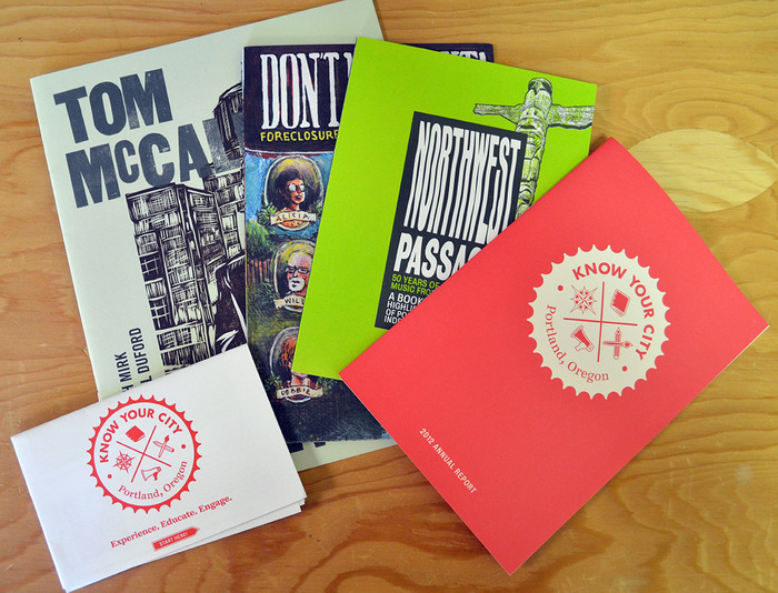 Know Your City publications ($50)