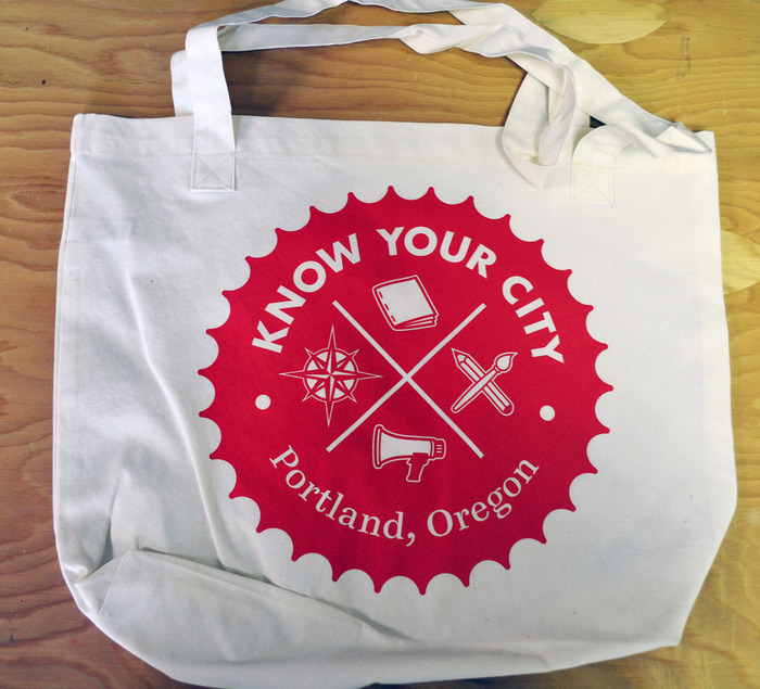 Know Your City tote bag ($35)