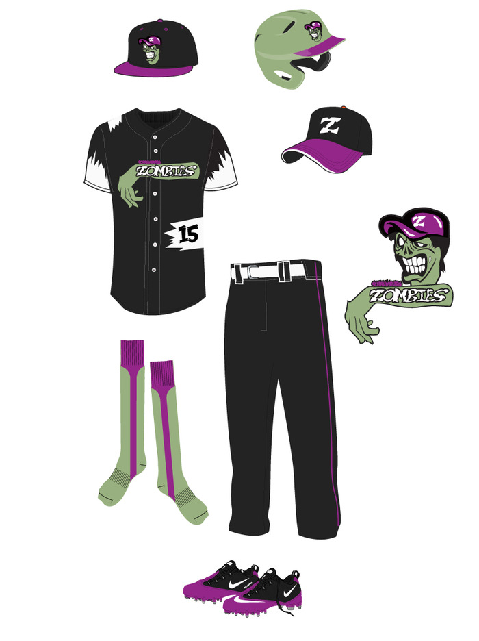 Zombies uniforms