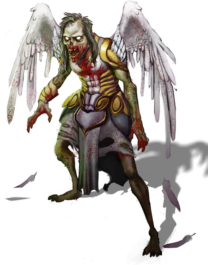 Z-Angel or Zombie Angel