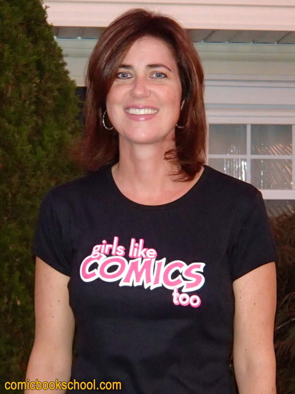 Girls Like Comics Too shirt