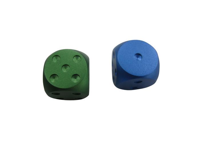 Kickstarter Green Or Pure Blue Anodized