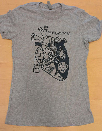 Heart of a Maker Tshirt