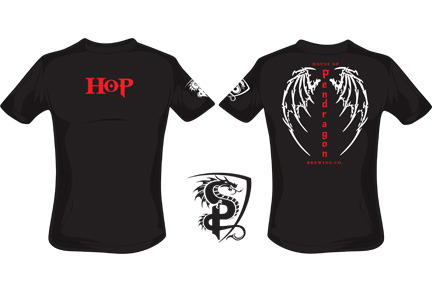 Newly designed HoP t-shirt.