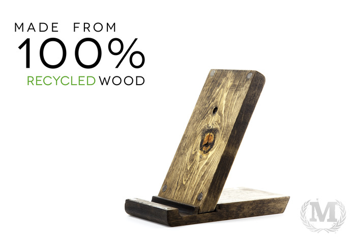 100% Recycled Wood
