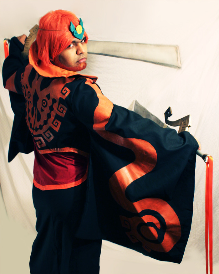 "Adil as ""Ganondorf"" from The Legend of Zelda"