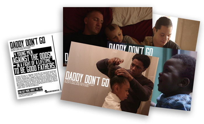 DADDY DON'T GO Postcards