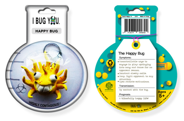 *** Clay bug and packaging prototype