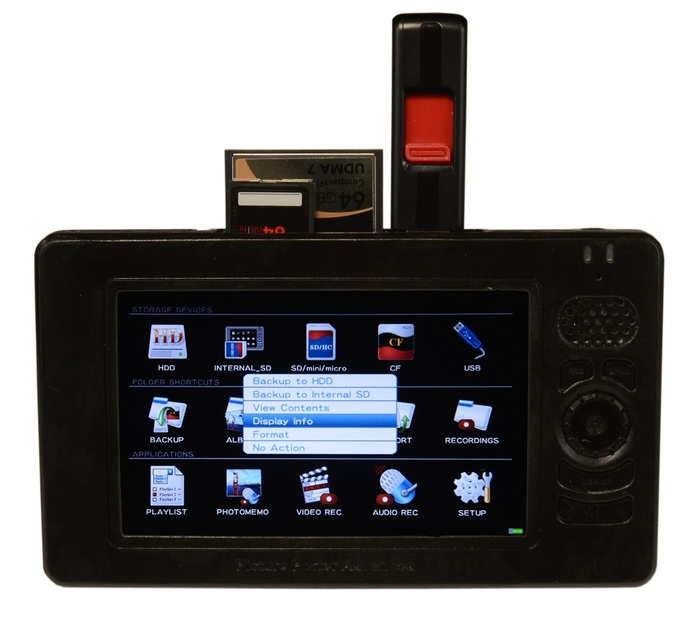 Picture Porter Advanced with external memory devices