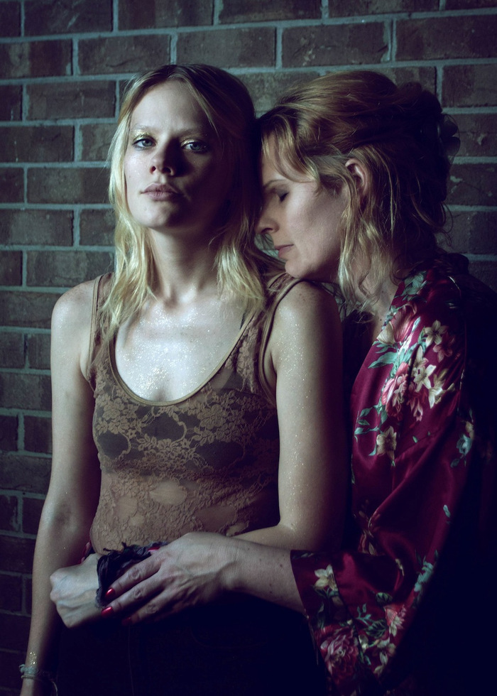 "Photo by Alison Bushor, ""Abby and Lorraine"""