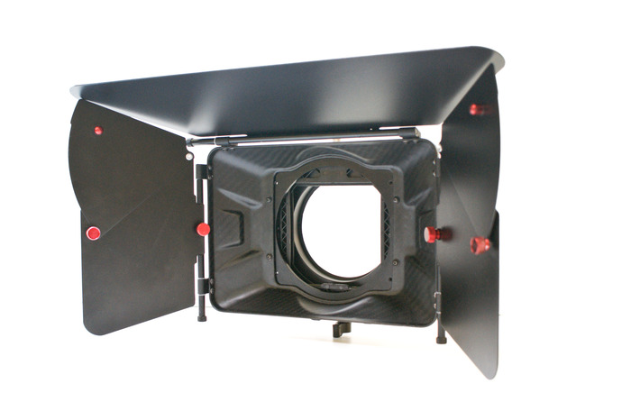 ClearView: Carbon Fiber 4x4 Matte Box