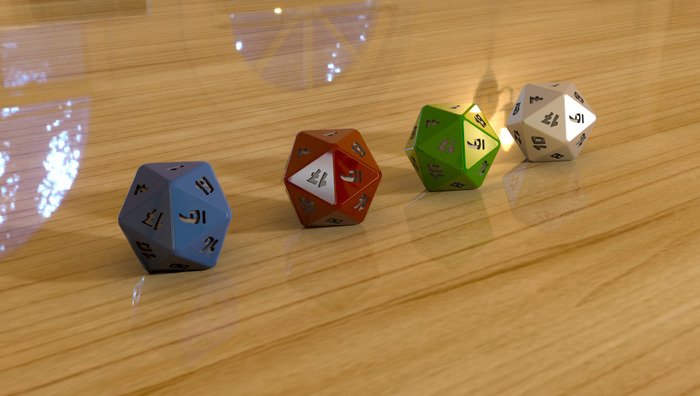 D20 Numerical Polyhedral Design