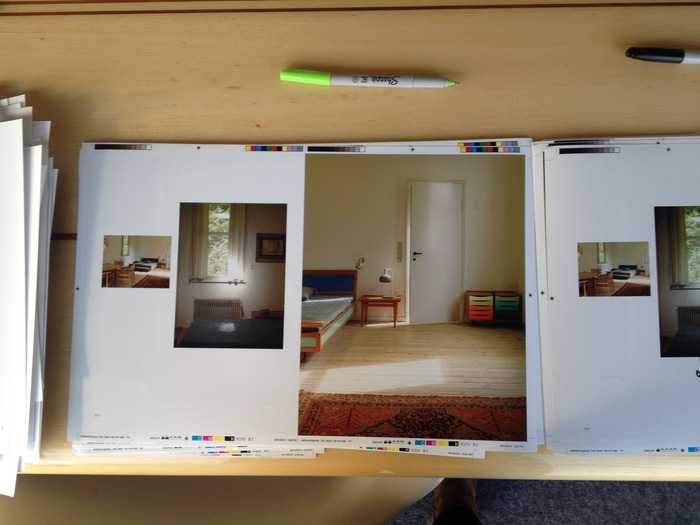 A favorite spread from Finn Juhl. Looks perfect now...