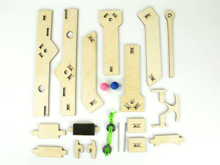 Siege Toys Desktop Catapults Amp Ballistas By Michael Woods