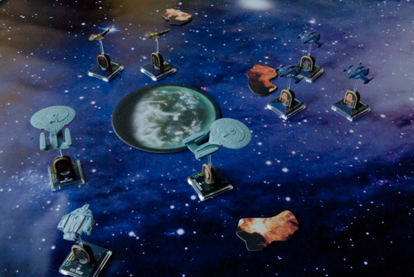 Federation forces attempt to turn back the Dominion invaders at the Andromeda Galaxy.