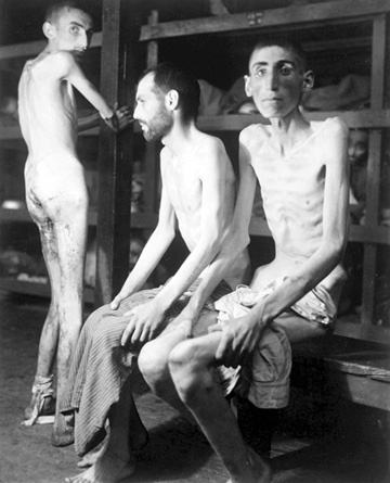 Slave laborers at Buchenwald
