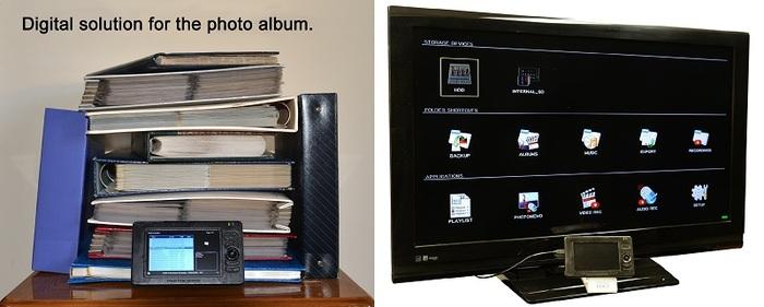 Digital Photo Album for the Family