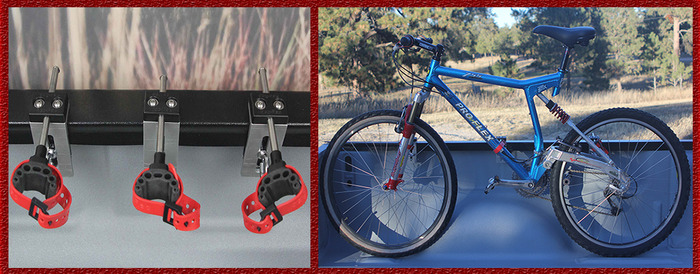 125 Pledge - Fold Arm, Wheel-On Bike, Secure Buddy System