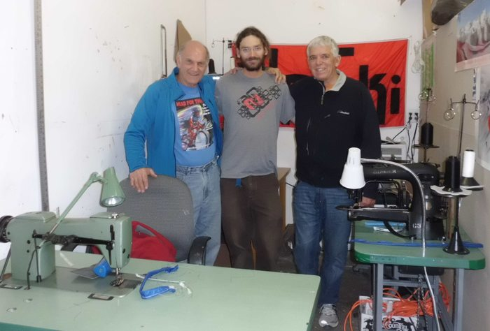 UpSki Founders: John Stanford, Kevin Passmore, & Phill Huff at UpSki in Carbondale, Colorado