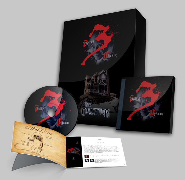 This special, limited Collector's Edition Boxed Set could be yours for a pledge at the $100 level, or as an add-on at any level.