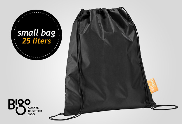 Bigo Bag Five comes with this small bag accessory in case you get caught in the rain – just stuff everything into this little, handy bag. Comes with every Bigo Bag Five.
