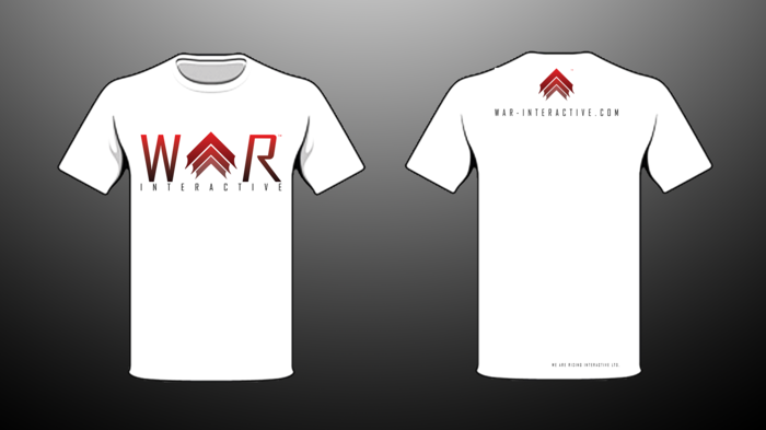 T-Shirt Design #2 - WAR Interactive (Please let us know which design you'd like)