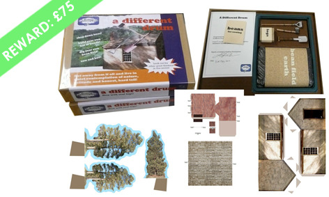 LIMITED EDITION  - DIY Philosopher's Kit - Signed - Build your own House in the Woods by Laura Dekker