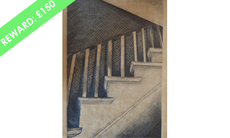 ORIGINAL Signed Drawing - 'Untitled 1' by Alison Griffin (32cm x 30cm)