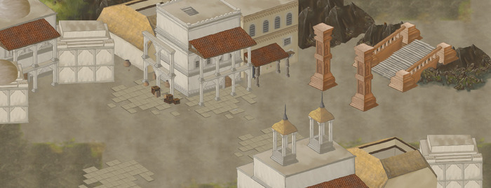 Work in progress Level near the grand temple