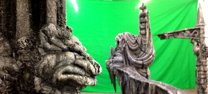Charles' set for Toby Froud film