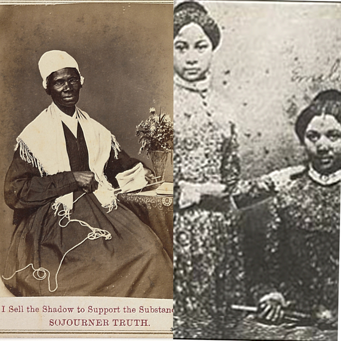 Sojourner Truth, sisters Mary and Emily Edmonson