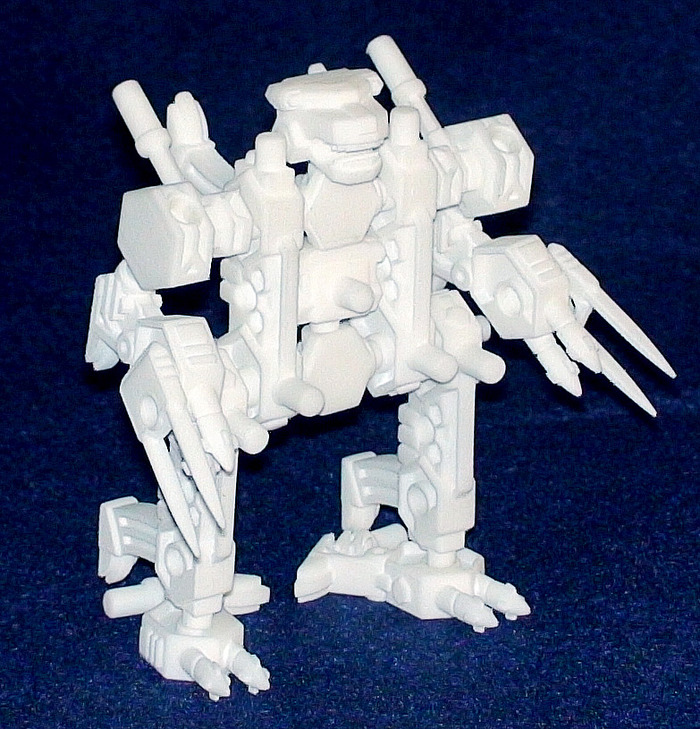 Multiple sets mean more building options, as can be seen with this robot made from two Ursenal prototypes