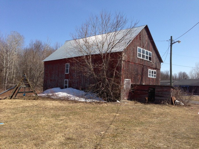Our 100 yr old Barn.