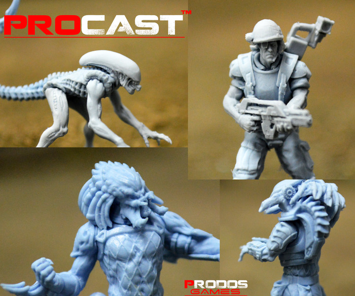 28mm Models quality close up, manufactured by Prodos Games LTD using Prodos Procast process.