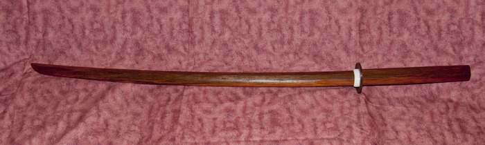 Red Oak Bokken Sample