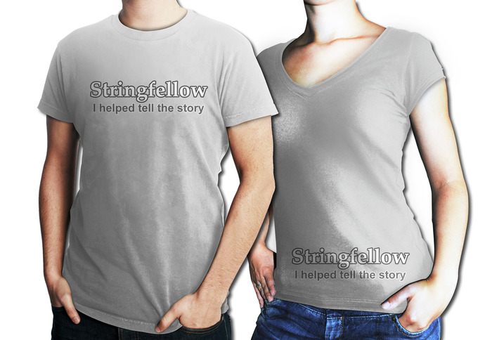"Kickstarter Exclusive - Original Stringfellow T-Shirt ""I helped tell the story"""