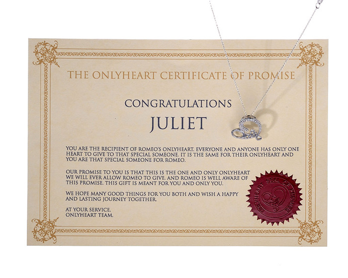 Certificate of Promise