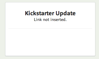 "I wonder if this is the first plant named ""Kickstarter Update"" in the world? I'm going to guess yes."
