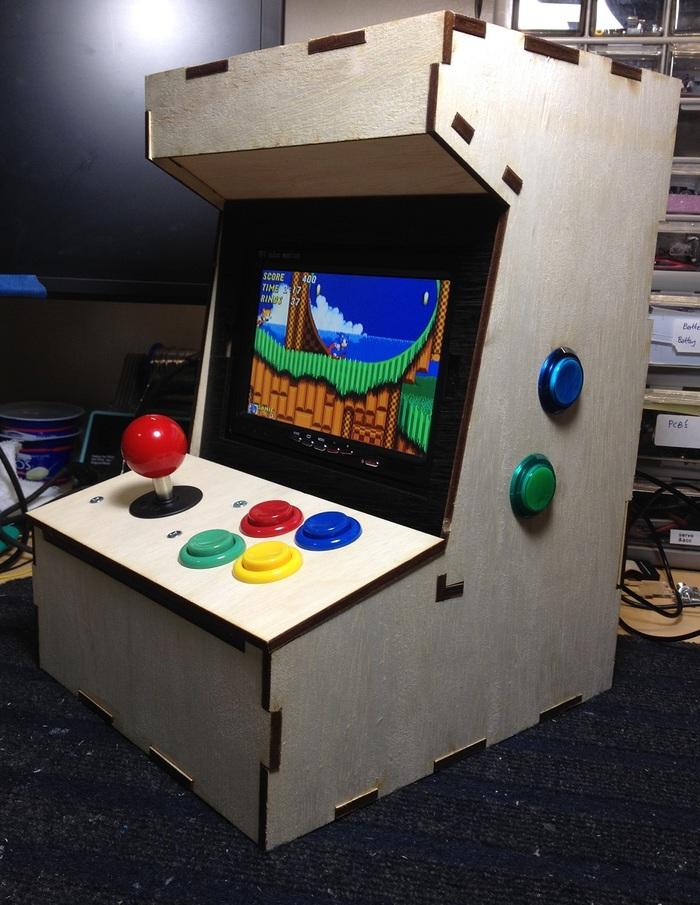 diy mini arcade machine
