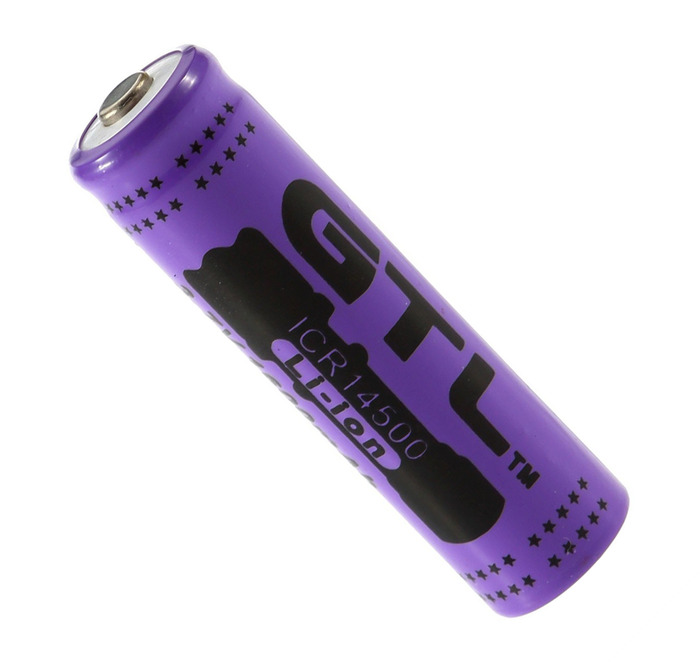 3.7v 14.5mm x 50mm Lithium-Ion Battery