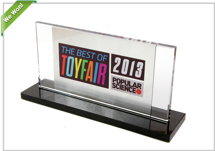 PowerUp 3.0 received the Popular Science Best of NY Toy Fair 2013 Award
