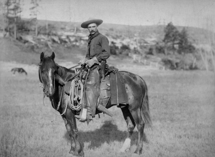 The Cow Boy - 1888 - U.S. Library of Congress