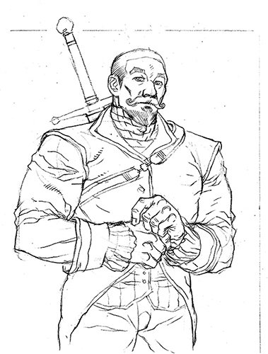 Porthos, by Jeremy Mohler (WIP)