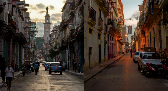 Downtown Havana, Cuba captured by producer John Logan Pierson during production.
