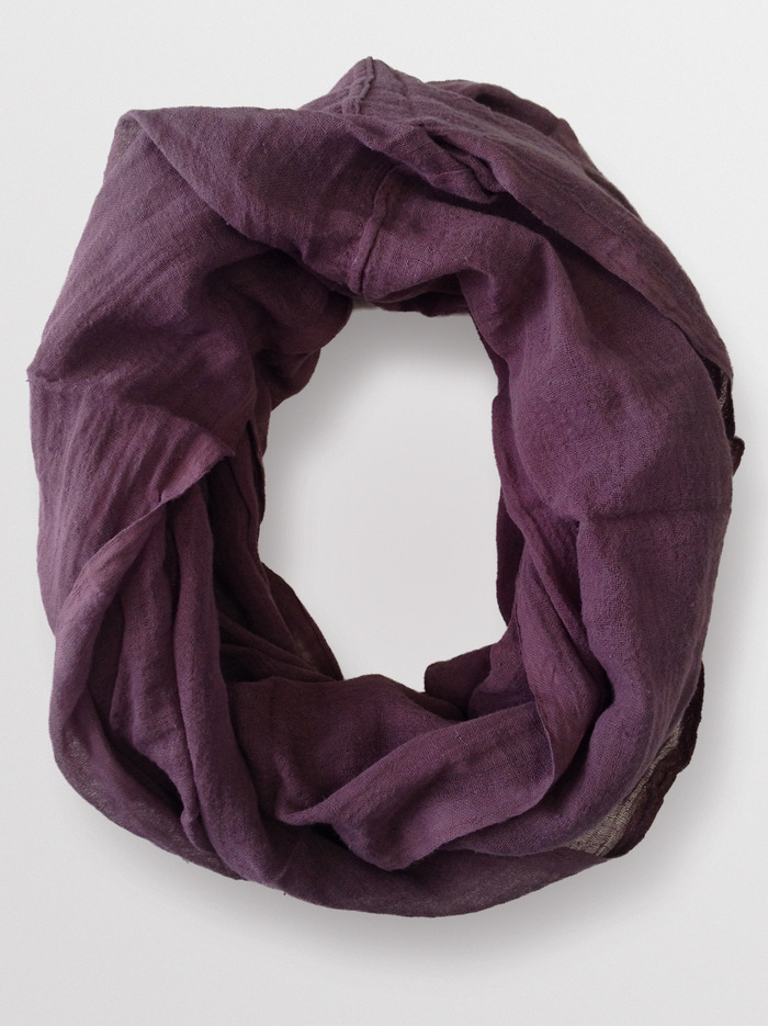 """Ellie Holcomb"" LIVE fashionABLE Scarf - Mesulu Infinity - Truffle Brown"